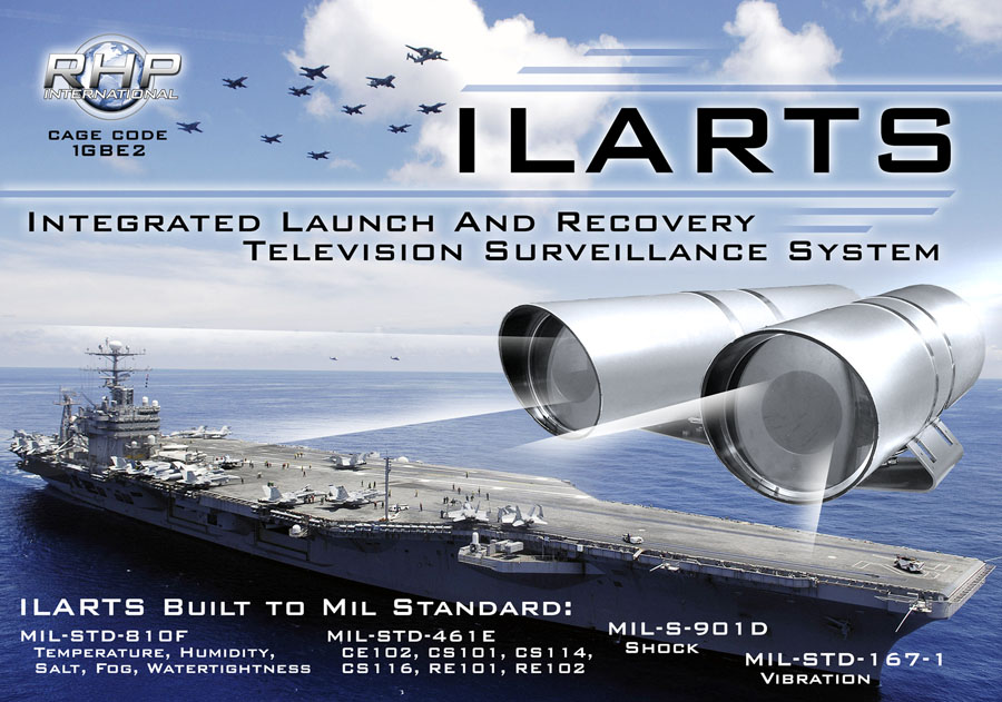 ILARTS: Integrated Launch And Recovery Television Surveillance System